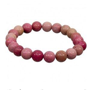 Healing Crystal 8MM Rhodonite Bracelet